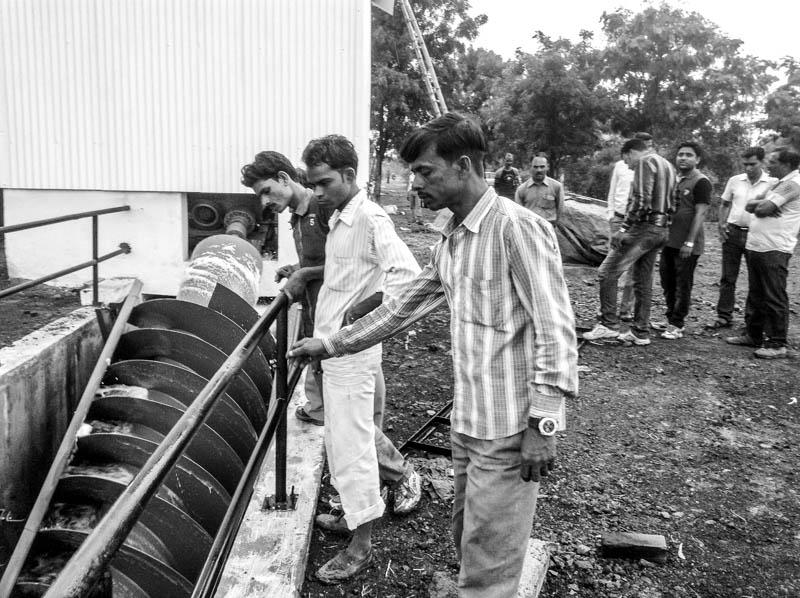 Erste Wasserkraftschnecke in Indien, Indore