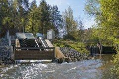 Wasserkraftanlage Heckerwehr, Hofstetten b. Roth